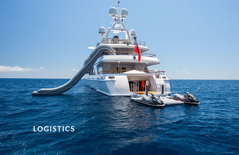 Yacht Support Auckland New Zealand Pacific Logistics